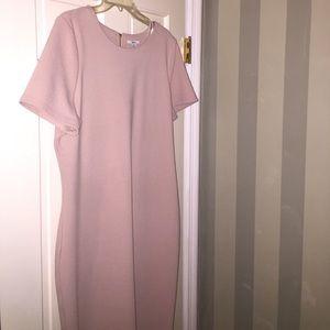 Blush Pink Dress- stretchy